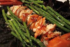 LOBSTER & ASPARAGUS SALAD WITH TARRAGON VINAIGRETTE2 small lobster ...