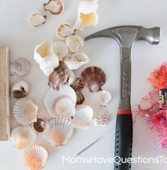 Making a Shell Wind Chime