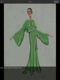 .Jeanne Lanvin S/S 1931 'Elsa'.   ©Patrimoine Lanvin.