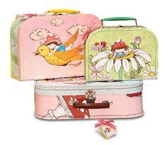 Kolekce Karlička - sada tří dětských kufříků. Charley collection - 3-set children #suitcases. #Kazeto