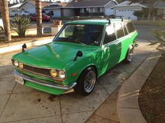 My new ride. 1972 Datsun 510 wagon.