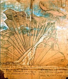 Bethune Murals - Historic Saranac Lake - LocalWiki Saranac Lake, Flourish, Bats, Norman, Murals, Sick, Vintage World Maps, Scene, Hero