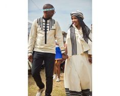 A modern Xhosa wedding is always welcome on Bontle Bride. How They Met I met my husband when he was part of the team of external auditors that … Continued African Men Fashion, African Fashion Dresses, African Dress, Wedding Wear, Wedding Blog, Designer Wedding Dresses, Bridal Dresses, Xhosa Attire, African Traditional Wedding Dress