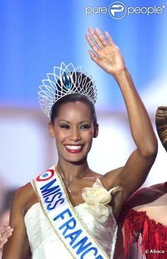 Corinne Coman - Miss France 2003. From Guadeloupe.