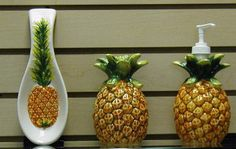 Superbe Adorable Pineapple Kitchen Decor