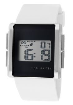 Price:$34.23 #watches Ted Baker TE1055, Whether it's a night out on the town or a day at the park this versatile Ted Baker timepiece always makes a scene. Digital Alarm Clock, Ted Baker, Night Out, Scene, Watches, Park, How To Make, Wristwatches, Clocks