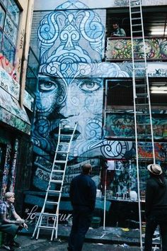 Street Art World 2014! #streetart #urbanart #graffitiart #wallmural #urbanmural…