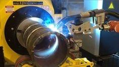 Robotic Welding For Full Root, Fill & Cap Welding Of Pressure Pipe