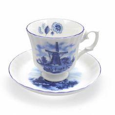 Delftware Porcelain Tea Cup Set