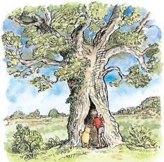 There were no bees in the hollow oak