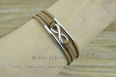 infinity wish bracelet retro silver infinity by BraceletTribal, $2.99 Beautiful handmade bracelet, the best gift