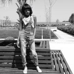 Boyfriend jeans #teenfashion #80's style