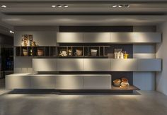 técnica Grafismi by S. Kitchen Room Design, Luxury Kitchen Design, Best Kitchen Designs, Kitchen Cabinet Design, Home Decor Kitchen, Kitchen Interior, Living Room Tv Unit Designs, Kitchen Showroom, Hidden Kitchen