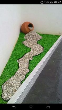 Simple, easy and cheap DIY garden landscaping ideas for front yards and backyards. Many landscaping ideas with rocks for small areas, Do It Yourself Garten, Garden Art, Home And Garden, Porch Garden, Big Garden, Garden Landscape Design, Front Yard Landscaping, Landscaping Design, Residential Landscaping