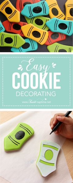 Easy Cookie Decorating... tips and tricks for helpers of all ages to make delicious and beautiful cookies!