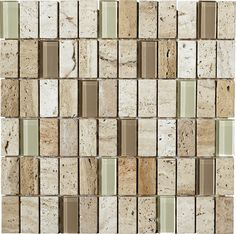This natural stone is a beautiful addition to any backsplash or shower with its rich earthtones and mid-tone color variation. LFS Medley-Stone 12LR samples available in store