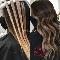 Balayage Vs Highlights, Blonde Highlights Curly Hair, Fall Blonde Hair, Black Hair With Highlights, Balayage Hair Blonde, Carmel Balayage, Light Highlights, Color Highlights, Partial Vs Full Highlights