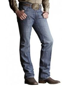 Mens Ariat M2 Relaxed Boot Cut Denim Jeans 10006152 - Texas Boot Company is located in Bastrop, Texas. www.texasbootcompany.com
