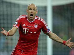 Arjen Robben machte mit seinem 2:1 in der vorletzten Minute alles klar für seine Bayern. Champions-League-Sieger! (Foto: Friso Gentsch/dpa)