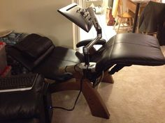 View topic - LX Monitor arm mounted on a zero gravity recliner