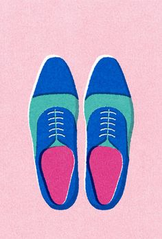 shoes by yusuke yonezu #illustration