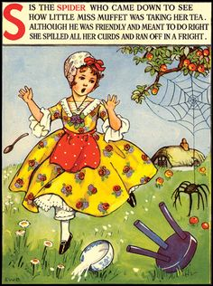 Illustratie van Cecily Stead en E. Nursery Rhymes Lyrics, Old Nursery Rhymes, Poems For Boys, Pomes, Three Little Pigs, Vintage Nursery, Farm Theme, Vintage Children's Books, Children's Book Illustration