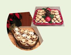 Date Filled Oatmeal Cookies / Mincemeat-Apple Tarts - Powered by Christmas Baking, Christmas Cookies, Apple Tarts, Mincemeat, Tart Shells, Muffin Cups, Oatmeal Cookies, Cookie Dough, Sour Cream