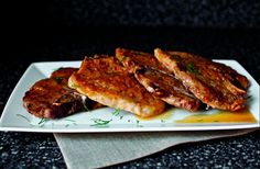 SmittenKitchenPorkChops  5 Days of Menus