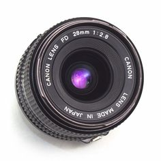 Canon 28mm F2.8 Wide Angle Prime LENS FD fit FDn nFD Manual Focus Japan VGC AE-1