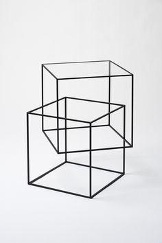 Thing black table // NENDO
