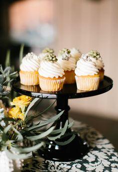 Bridal Shower | Southwestern | Succulent Cupcakes | Boho