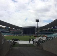 More of the stadium being set up in Sydney
