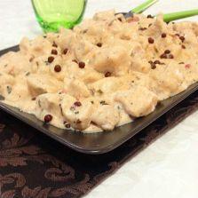 Bocconcini+di+pollo+al+pepe+rosa