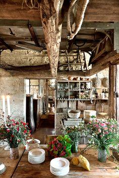 Le case di campagna più belle - Atmosfera campestre  Bella, Casi e ...