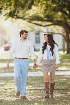 Downtown Charleston Wedding Engagement by Hannah Woodard Photography Engagement Photo Outfits, Engagement Pictures, Wedding Pictures, Wedding Ideas, Army Wedding, Wedding Engagement, Southern Outfits, Southern Style, Prom Photos