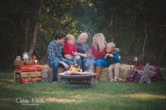 Campfire Mini Sessions - S'more Mini Sessions- Holiday Mini Sessions - Campfire Photos - Smore Photos - Addie Marie Photography