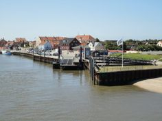 This is where the ferry docks at Fanø, Nordby Havn (færge)