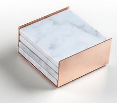 Inject some elegance into your home decor with a stack of marble + rose gold coasters. Inject some elegance into your home decor with a stack of marble + rose gold coasters. Gold Home Decor, Spring Home Decor, Home Decor Trends, Diy Home Decor, Rose Gold Room Decor, Decor Ideas, Room Ideas, Gold Coasters, Marble Coasters