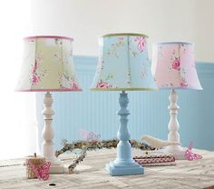 these lamps are so cute to go with the adorable Savannah bedding. Love it! - #potterybarn kids