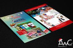 Desenvolvimento de Impressos Promocionais Folder para o cliente:Turma da Cuca