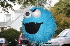 Casen's Cookie Monster Birthday | CatchMyParty.com