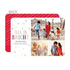 Sweet Twinkle Premium Holiday Cards