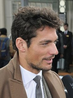 Dolce Model David Gandy Hates Gisele Bundchen - theFashionSpot