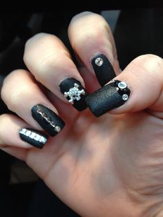 Love my nails by nails inc. bling it on kit- Rebel !
