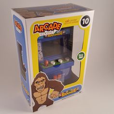 2017 Basic Fun Arcade Classics 10 - Rampage - Midway Classic - NEW Sealed in Box