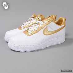 Nike Air Force 1 Low Supreme I/O TZ   white / metallic gold / www.queens.cz