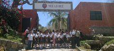 """Alumnos y docentes del IEBO, visitan Mariposario """"Yeé lo Beé"""" en Huatulco"""