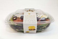 Pret A Manger Salad. Beautifully designed packaging. #saladpackaging…
