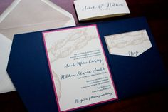 "Nautical Knots Wedding Invitation Sample - ""Mystic"""