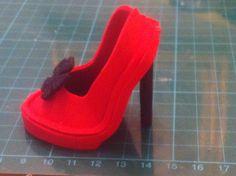 Zapato de tacon y plataforma para fofucha